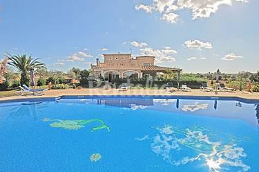 Impresionante Piscina Mallorca Campos Villa en entorno rural