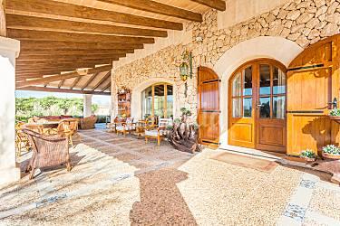 Impresionante Exterior del aloj. Mallorca Campos Villa en entorno rural