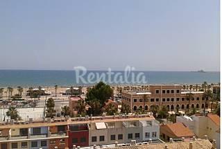Beach apart. Sea view, 6 pers., 3 rooms, balcony Valencia
