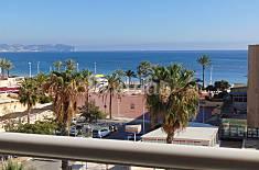 Apartamento con piscina y vistas al mar, playa 50m Alicante