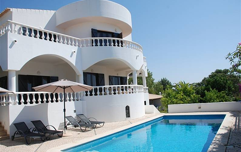 Villa for 10 people only 500 meters from the beach Algarve-Faro - Terrace