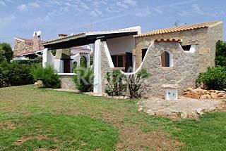 Casa en alquiler en primera linea de mar Menorca