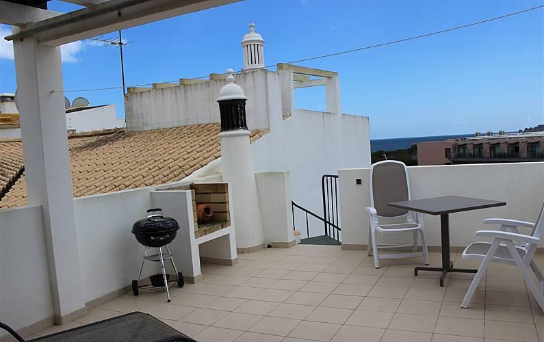 1 Terrace Algarve-Faro Lagos Apartment - Terrace