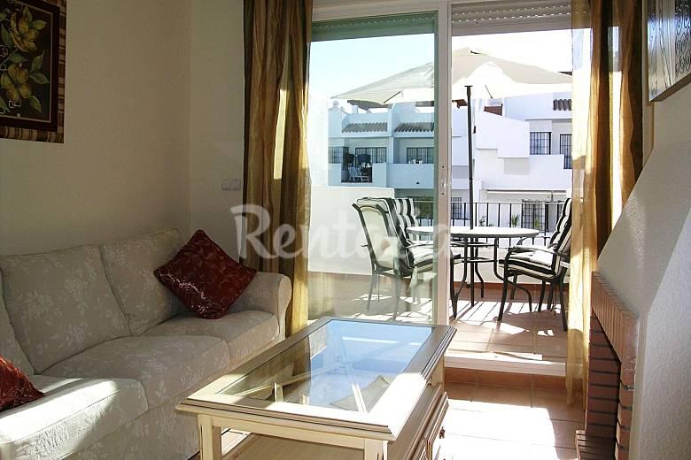 Relaxe, Praia, golfe...! 130 m2 en penthouse luxo Huelva