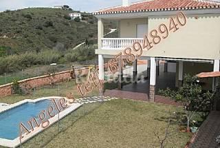 Casa con encanto natural y vistas al mar  Málaga