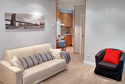 Apartamento para 4-5 pessoas em San Sebastian centro Guipúscoa