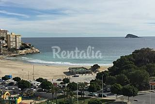 Stunning view on Cala de Finestrat Alicante