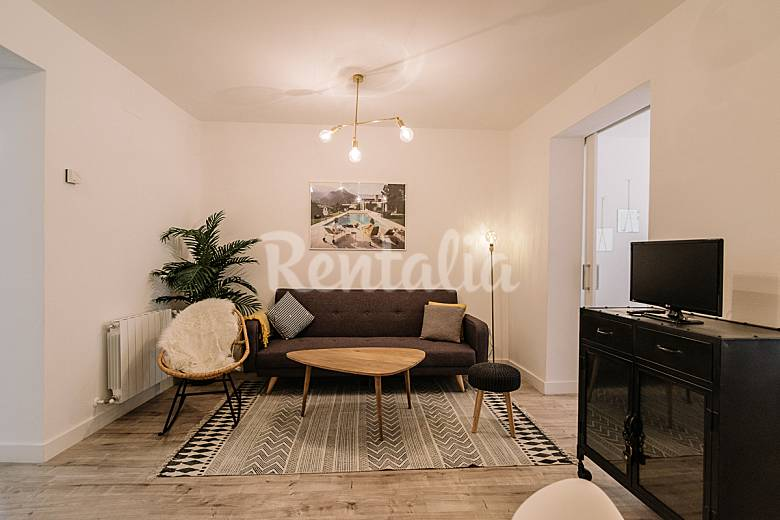 Renewed Living-room Madrid Madrid Apartment