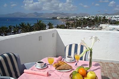 Apartamento para 2-7 personas a 50 m de la playa Lanzarote
