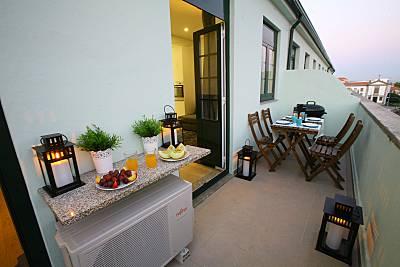 Apartamento de 1 habitación a 5 km de la playa Oporto
