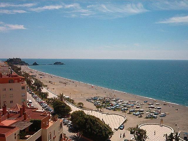 Apartamento para 2 4 personas en 1a l nea de playa almu car granada costa tropical - Apartamentos en granada playa ...