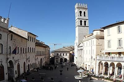 l'ombellico di Assisi Perugia