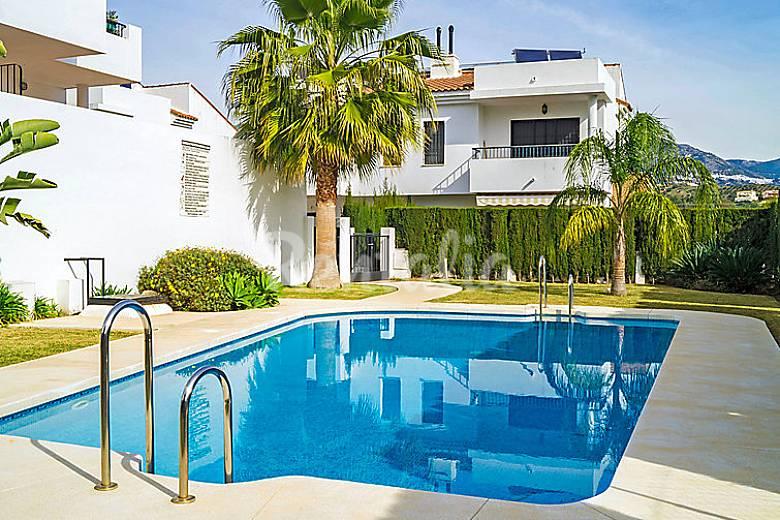 Casa en alquiler con piscina mijas golf mijas m laga for Casas con piscina en malaga