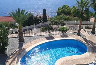 Villa with breathaking views and private pool  Granada