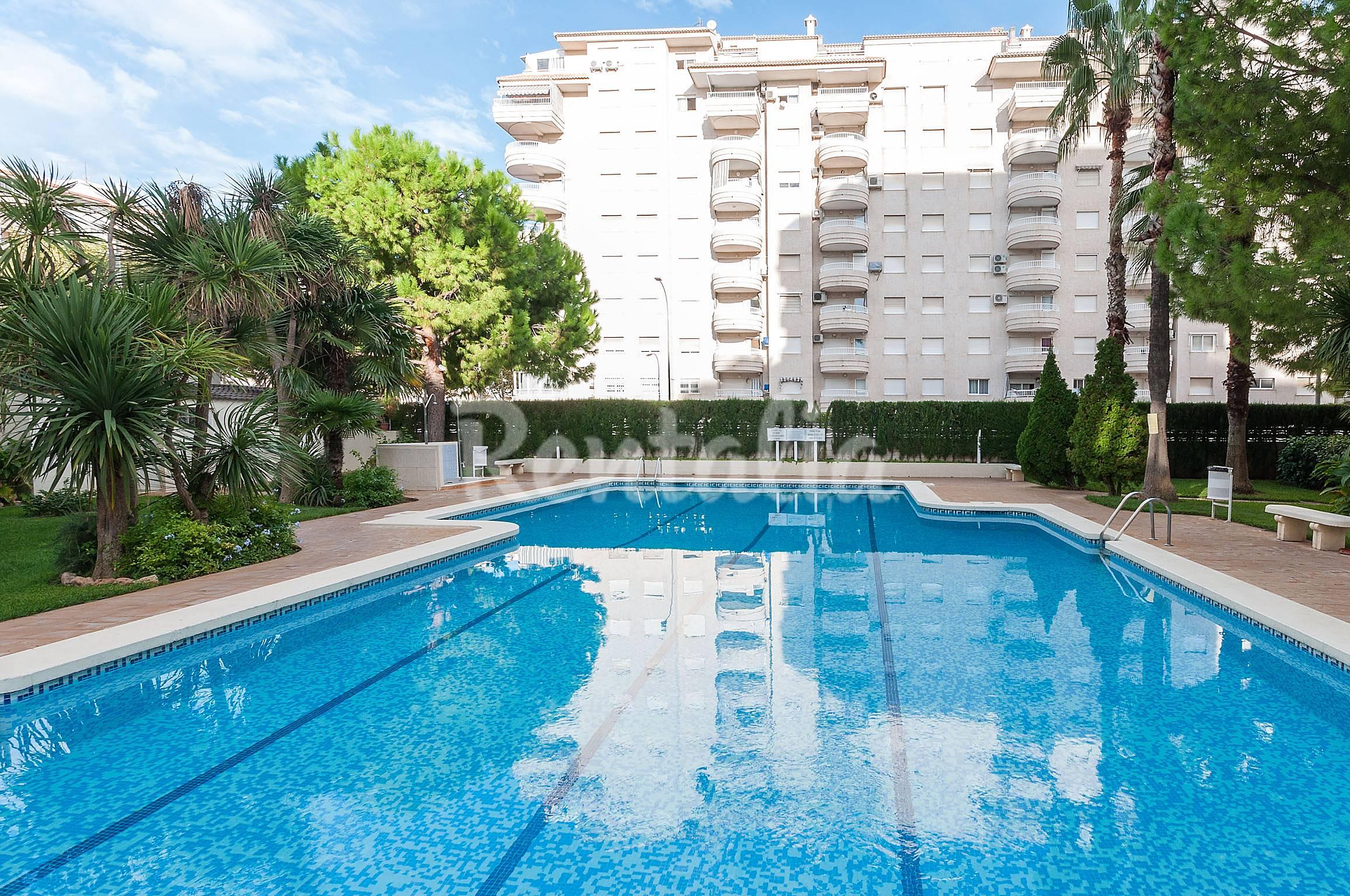 Aricina apartamento para 6 personas en playa de gandia grau i platja gandia valencia - Apartamentos en gandia playa ...