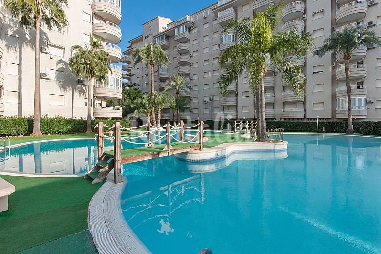 Farao apartamento para 4 personas en playa de gandia grau i platja gandia valencia - Apartamentos en gandia playa ...