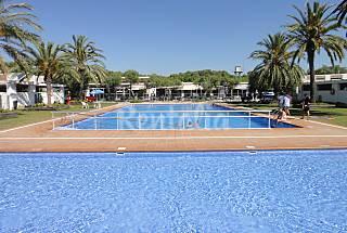 Casa en camping a 300 m de la playa Tarragona