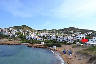 Apartamento para 2-4 personas en 1a línea de playa Menorca