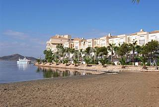 Apartment for rent on the beach front line Murcia