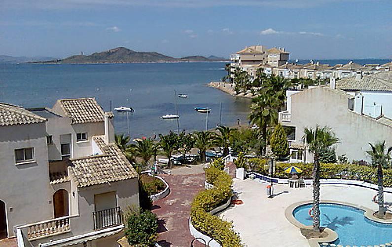 Apartamento en alquiler en 1a l nea de playa la manga del mar menor san javier san javier - Apartamentos baratos en la manga del mar menor ...
