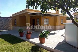 House for 6-7 people only 700 meters from the beach Cádiz