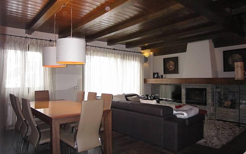 Casa de 4 habitaciones Baqueira Beret Lleida/Lérida - Salón