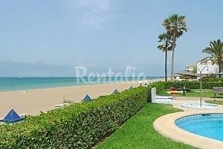 Planta baja - 1ª línea de playa - A/A - Pax 4/6. Alicante