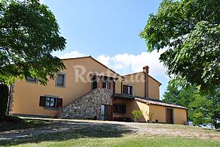 House with swimming pool on border Lazio-Toscana Viterbo