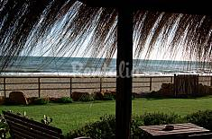 House with 2 bedrooms on the beach front line Latina