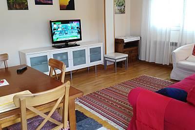 Apartamento con WIFI, piscina, garaje y terraza Rioja (La)