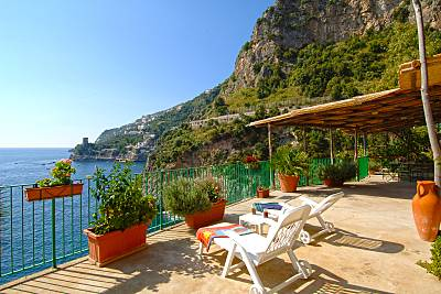Villa para 6-8 personas a 50 m de la playa Salerno