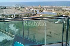 Apartamento de 2 hab + 1 sofá cama a 20 m de playa Murcia