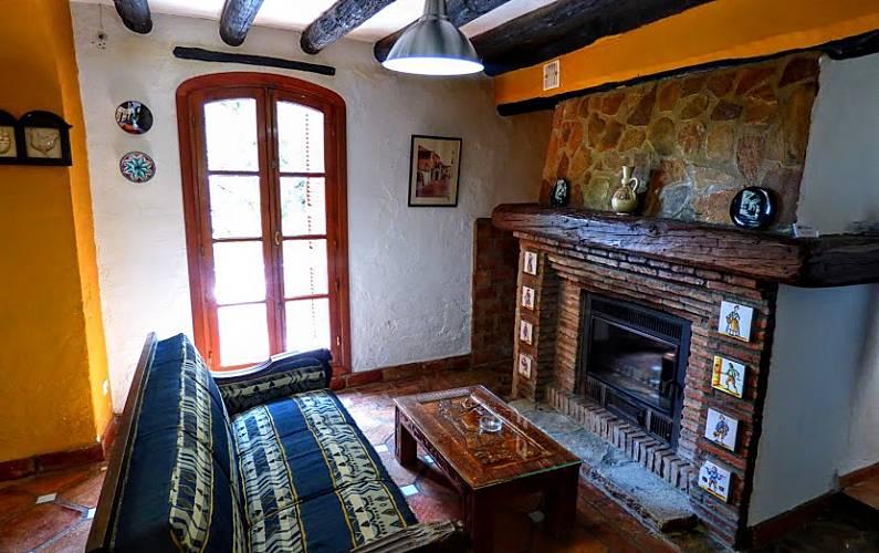 Casas Salón Cádiz El Gastor Casa en entorno rural - Salón