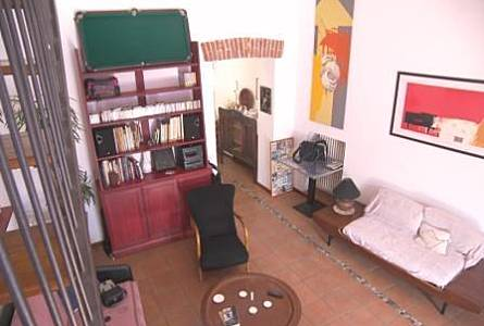 Central Living Room Turin Apartment