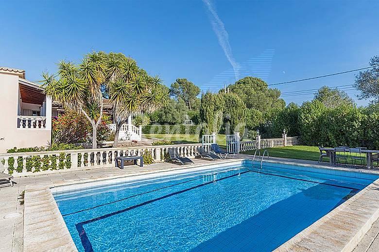 Gran casa con piscina internet fibra optica son ferriol - Piscinas palma de mallorca ...