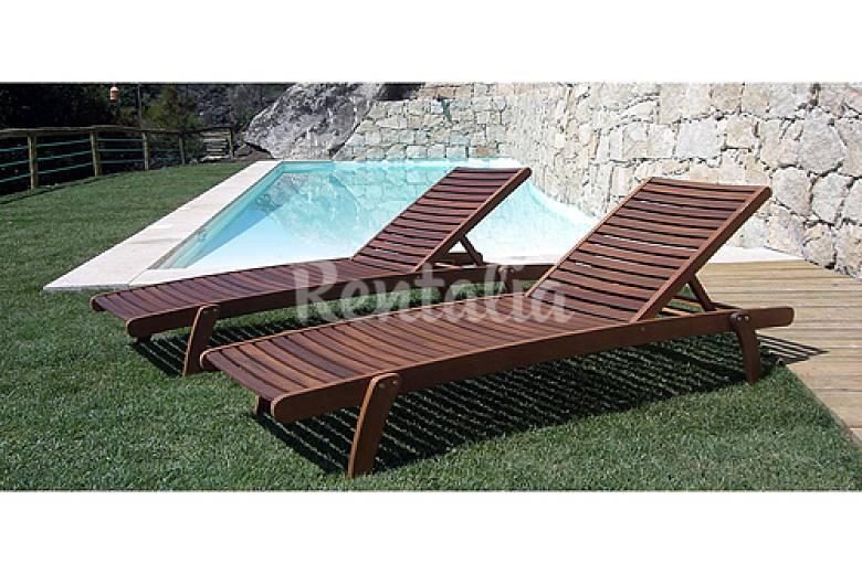 Casa de f rias en granja con piscina y restaurant for Piscinas viana