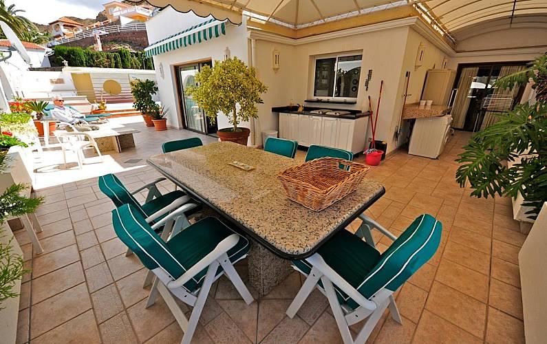 Property Terrace Gran Canaria Mogán House - Terrace