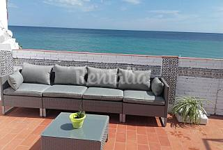 Casa en alquiler en 1a línea de playa Málaga