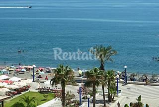 WIFI 1era línea playa vista mar cerca NERJA Piscin Málaga