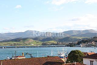 Apartamento, 2 hab., vistas a la ria, a 2 Km playa Cantabria