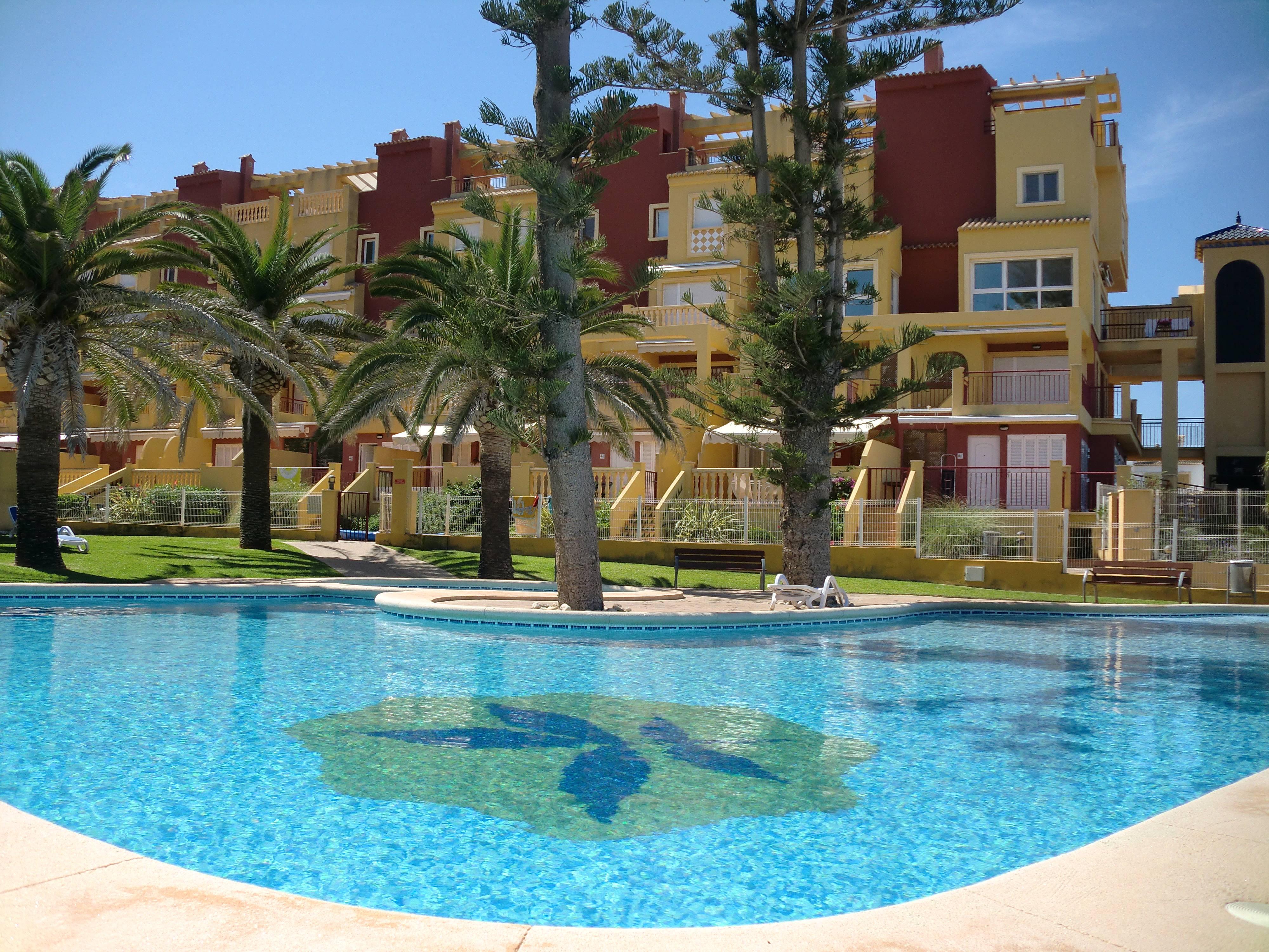 Apartamento en alquiler a pie de playa d nia alicante costa blanca - Denia apartamentos alquiler ...