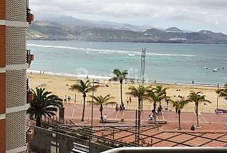 Apartaestudio para 2 personas en 1a línea de playa Gran Canaria