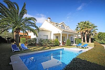 Villa exclusiva oliva nova golf-playa+Internet Valencia