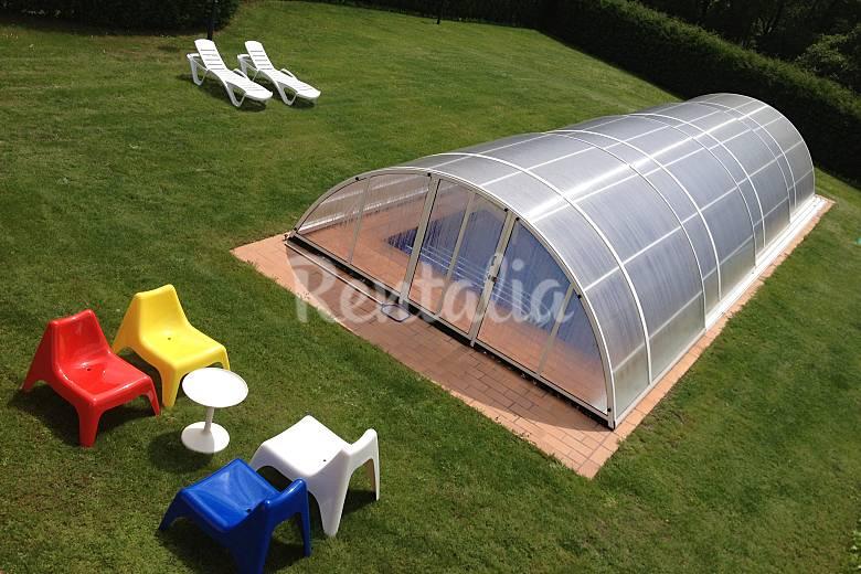 Villa con piscina cubierta y climatizada san cucao llanera asturias - Casa rural con piscina cubierta ...