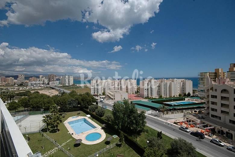 Jardin Vistas desde la casa Alicante El Campello Apartamento
