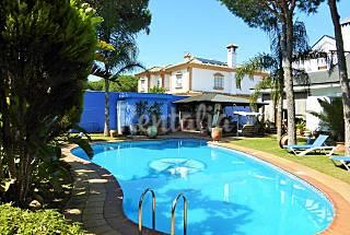 Villa elegancia.Piscina privada, caminando a playa Cádiz