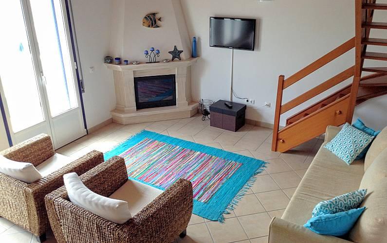 Casa Living-room Algarve-Faro Aljezur House - Living-room