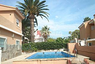 Villa for 10 people only 50 meters from the beach Castellón