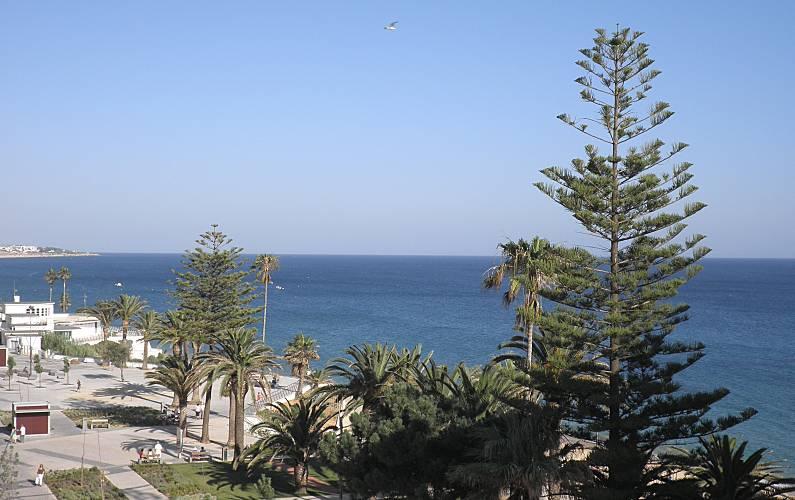 Apartamento para alugar em frente à praia Algarve-Faro - Terraço
