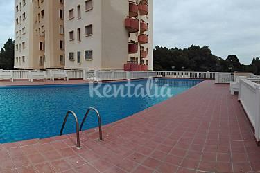Apartamento para 4 5 personas a 100 m de la playa saler for Piscinas publicas valencia